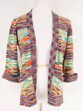 CoCo Multicolored Open Sweater