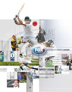 Juan Rosenfeldts Portfolio Fox Sports Australia Rebrand 2013