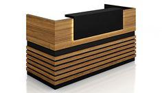 Reception Desk : Buy Best Reception Counter from Highmoon Furniture Office Counter Design, Cash Counter Design, Office Table Design, Computer Desk Design, Small Reception Desk, Reception Table Design, Office Reception, Clinic Interior Design, Interior Design Software
