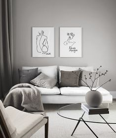 Bodyline gallery wall in the group Inspiration at Desenio AB Home Living Room, Interior Design Living Room, Living Room Designs, Living Room Decor, Bedroom Decor, Kitchen Living, Dining Room, Gallery Walls, Home Decor
