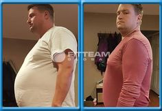 """I started FITTEAM FIT in October 2015 after my wife started. I saw the success she was having and decided to join her. In Nov we started a 30 day challenge. I started weighing 286 lbs and after the 30 days weighed 264. I lost 22 lbs and lost 15 and a half inches. I feel great! Since I have started I have eliminated energy drinks, I drink 1 FIT and I'm good for the night! It gives me the Energy and Focus to perform my job, and be a family man while working 3rd shift"" -Steve"