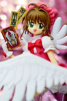 Our favorite cardcaptor with her magical cards! Photography by HunterX-v2 and Bellechan