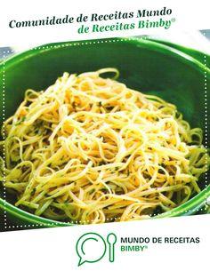 Esparguete com azeite, alho e salsa de isabelpatriciatavares. Receita Bimby<sup>®</sup> na categoria Acompanhamentos do www.mundodereceitasbimby.com.pt, A Comunidade de Receitas Bimby<sup>®</sup>.
