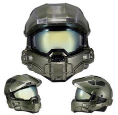Master Chief limited edition replica Motorcycle Helmet