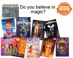 Have a MAGICAL weekend with these books. Log your minutes at Scholastic.com/summer