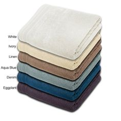 Crowning Touch Cotton 3-piece Towel Set - Overstock Shopping - Top Rated Bath Towels