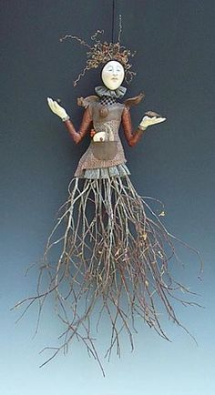 bird art doll - Google Search