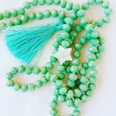 Menta e turchese collana mint/turquoise necklace #summer16