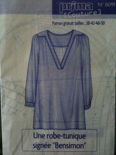 patron couture gratuit tunique                                                                                                                                                                                 Plus