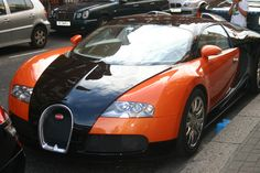 This is a car in Rome it is a very expensive car