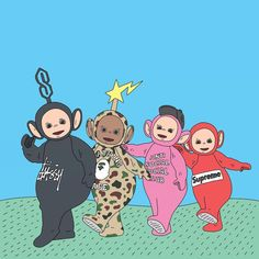 Hypebeast teletubbies