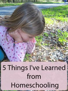 5 Things I've Learned From Homeschooling: A guest post from Michelle at The Holistic Homeschooler