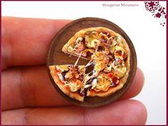My tiny world: Dollhouse miniatures: We love pizza