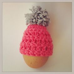 warm eiermutsje / egg beanie. Tutorial in Dutch and English by Jenins