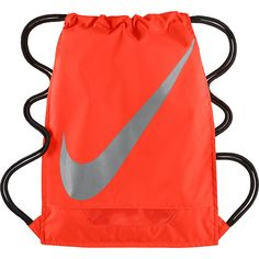 Nike FB 3.0 Gymsack Sack Pack ( 18) ❤ liked on Polyvore featuring bags,  backpacks, orange, school   day hiking backpacks, drawstring bag, nike,  draw string ... d6db48d45f