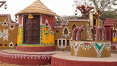 Rajasthan: In Rajasthan people love decor our home n look attractive like they play in so many colour