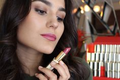 They celebrate Color Riche's 30 anniversary and the Loreal Paris, Your Lips, My Beauty, Lip Makeup, Best Makeup Products, Lipstick, Dahlia, Celebrities, Color