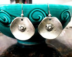 Mandala Earrings Bohemian Earrings Tribal Earrings Ethnic