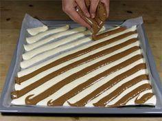 Biskuitrolle mit Zebrastreifen eine tolle Idee