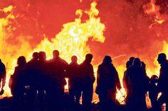 Die Hürden bei der Organisation eines Osterfeuers