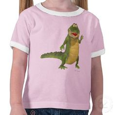 SOLD recently at Zazzle by Graphic Allusions: 'Salty the Crocodile' children's t-shirt. Thanks again to the customer. :)
