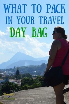What to Pack in Your Day Travel Bag - Peanuts or Pretzels Travel #Packing #DayBag #Travel