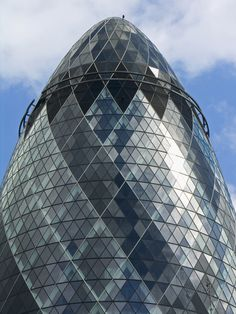 30 St Mary Axe aka The Gherkin, London  When a building is, at best, compared to a pickle, things are not going well. Lord Norman Foster designed the former Swiss Re Tower, which now goes in name only by its (admittedly intimidating) street address. @Alberto Pittoni