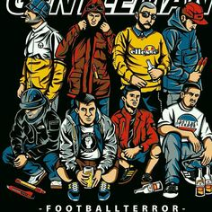 Football Source by valentinradloff suporter Football Casual Clothing, Football Casuals, Casual Art, Men Casual, Classic Outfits, Casual Outfits, Ultras Football, Football Design, Chelsea Football