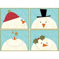 Snowmen Placemats