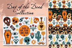 Mexican Holiday, Day Of The Dead, Holidays Halloween, Design Bundles, Vector Art, Pattern Design, How To Draw Hands, Clip Art, Boho