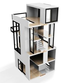 amazing modern doll house