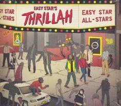 Reggae Land Muzik Store - Easy Star All - Stars : Easy star's Thrillah  CD, $16.98 (http://www.reggaelandmuzik.com/easy-star-all-stars-easy-stars-thrillah-cd/)
