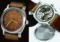 Rolex-made Panerai Radiomir Ref 6152 from 1955. Credit: PaneraiMagazine.com