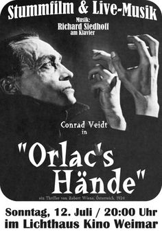 October 2016 – Movies From The Silent Era