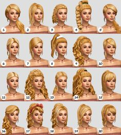 natural hair Maxis Match CC World - - haar Maxis, Los Sims 4 Mods, Sims 4 Game Mods, Sims 4 Mm Cc, Sims Four, Sims 4 Mods Clothes, Sims 4 Clothing, Die Sims 4 Packs, Ashy Blonde Balayage