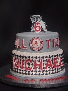 Univ Alabama cake Pretty cakes Pinterest Alabama Blog and
