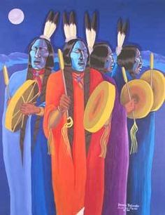 Dennis Belindo - Artist Keywords and Quick Facts - Dennis Belindo Native American Artwork, Native American Artists, American Indian Art, Native American Indians, Henri Matisse, Modern Indian Art, Art Nouveau, Indigenous Art, Indian Paintings