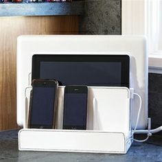 Great Useful Stuff White Multi-Charging Station - HCG01090WHKRSD