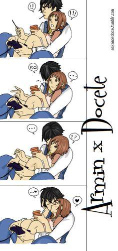 Armin x Sucrette by Sucrettee on DeviantArt