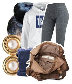 """""""7/10/15"""" by lookatimani ❤ liked on Polyvore featuring Chanel, Gucci, UGG Australia and Friis & Company"""