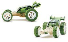 Bamboo cars