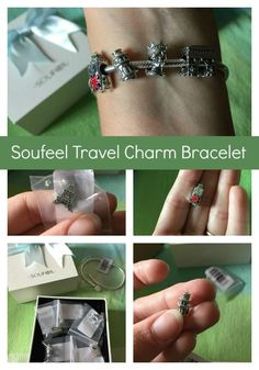 I am in love with my @SoufeelJewelry charm bracelet! Check out my travel bucket list charms! #ad