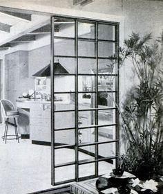 Minimal Room Divider, Popular Mechanics, April 1960