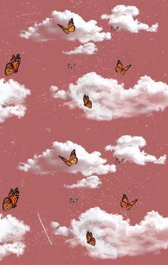 Butterfly Wallpaper Iphone, Cartoon Wallpaper Iphone, Iphone Wallpaper Tumblr Aesthetic, Iphone Background Wallpaper, Aesthetic Pastel Wallpaper, Aesthetic Wallpapers, Pattern Wallpaper Iphone, Iphone 6 Wallpaper Tumblr, Pastel Iphone Wallpaper