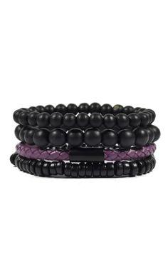 4 Pack Simple Purple