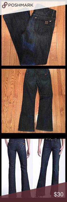 """Joe's Jeans. Bootcut Muse Fit These Joe's Jeans are in excellent condition with minimal fade or wear. Nico wash. Great stretch with 60% cotton and 40% polyester. Professionally hemmed to 30"""" and rise is 9"""". Last pic shows the fit. Joe's Jeans Jeans Boot Cut"""