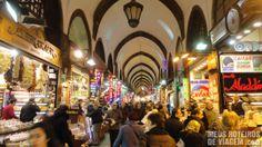 Turquia européia - Pesquisa Google---Pashminas no Grande Bazar - Istambul, Turquia