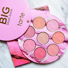 Tarte Cosmetics Big Blush Book is beautiful and such a great value for the price ❤️