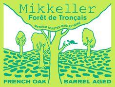 Mikkeller. Forêt de Tronçais. Medium toasted Barley Wine.