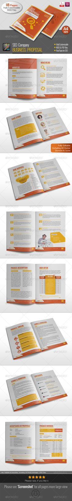 Business Proposal Template w\/ Resume \ Invoice 60+ Pages - proposal template